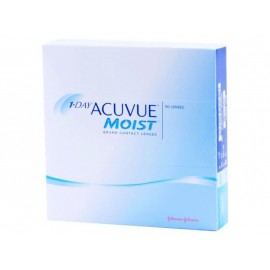 1-Day Acuvue Moist Contact Lenses For Daily Wear 90 Pack With Lacreon, L90