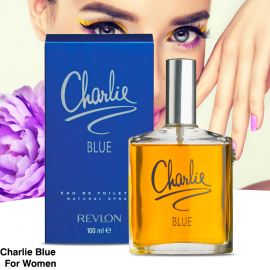 Charlie Blue By Revlon For Women, Eau De Toilette Spray, P351
