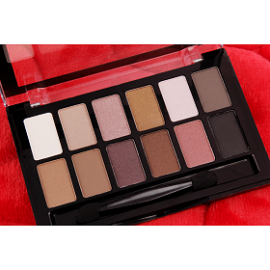 Queen Mini Classic 12 Color Eye Shadow Palette, BE6673
