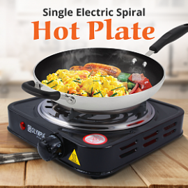 Olympia Electric Cooking Single Hot Plate 1500 Watts, OE303