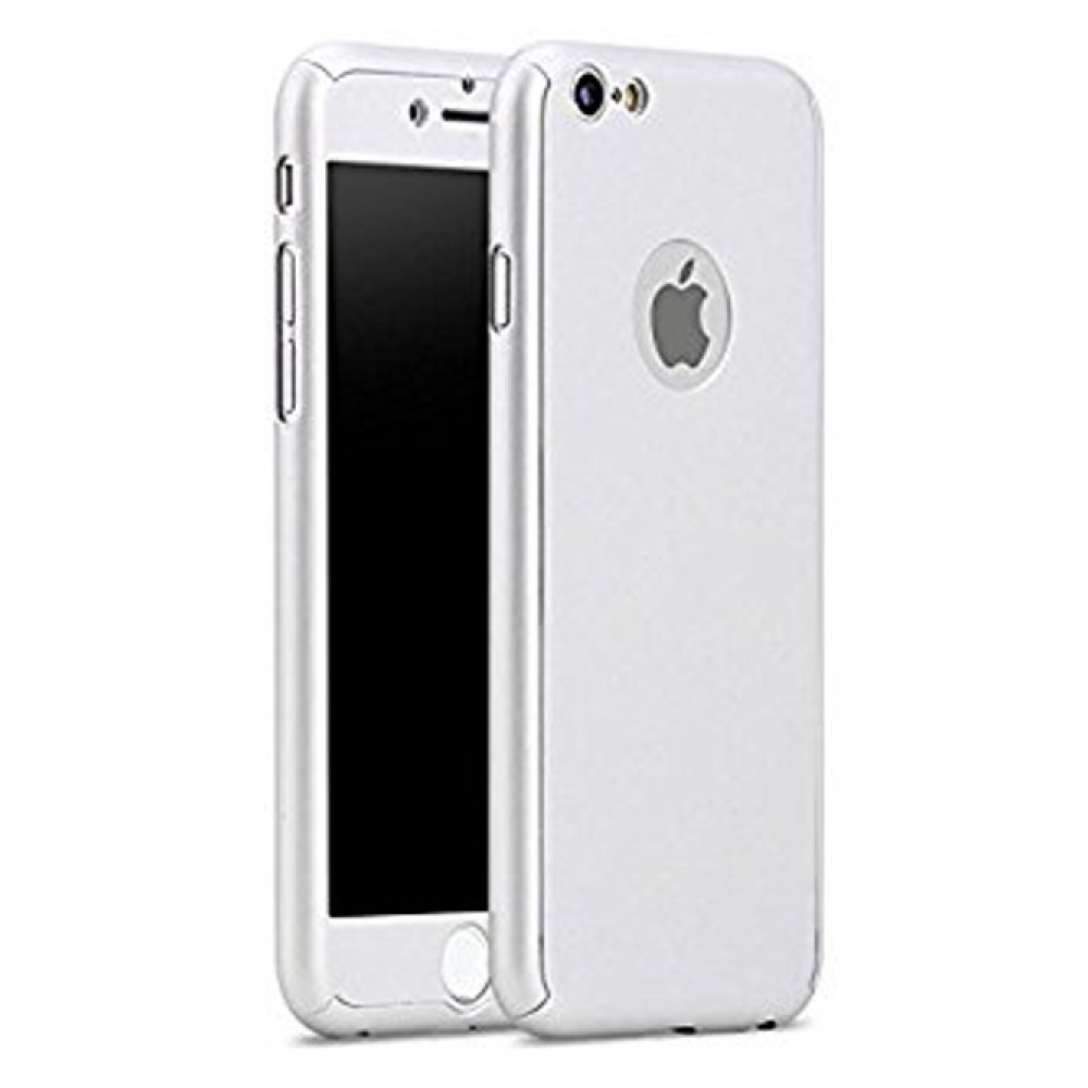 360 degree full body case for iphone 5 5s se silver available in uae best rates. Black Bedroom Furniture Sets. Home Design Ideas