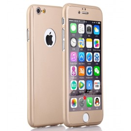 360 Degree Full Body Protection Case For iPhone 6 & 6s, Gold