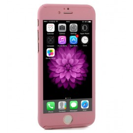 360 Degree Full Body Protection Case For iPhone 6 & 6s, Pink