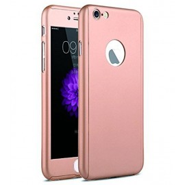 360 Degree Full Body Protection Case For iPhone 6 & 6s, Rose Gold