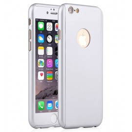 360 Degree Full Body Protection Case For iPhone 6 & 6s, Silver