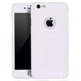 360 Degree Full Body Protection Case For iPhone 6 & 6s, White