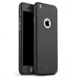 360 Degree Full Body Protection Case For iPhone 6 Plus & 6s Plus, Black