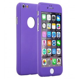 360 Degree Full Body Protection Case For iPhone 6 Plus & 6s Plus, Purple