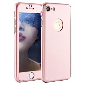 360 Degree Full Body Protection Case For iPhone 6 Plus & 6s Plus, Rose Gold