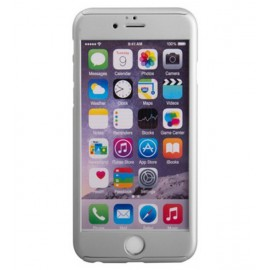 360 Degree Full Body Protection Case For iPhone 6 Plus & 6s Plus, Silver