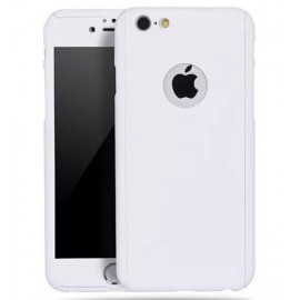 360 Degree Full Body Protection Case For iPhone 6 Plus & 6s Plus, White