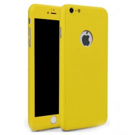360 Degree Full Body Protection Case For iPhone 6 Plus & 6s Plus, Yellow