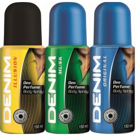 Denim Deo Perfume Body Spray, ML150