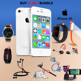 12 In 1 Bundle Offer, Apple iPhone 4S 16GB, Unive..