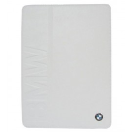 BMW Book Type Leather Case For Apple iPad Mini White, BMFCPM2LOW