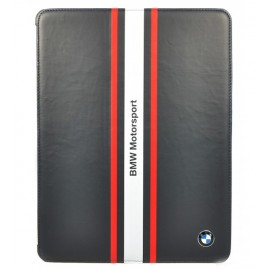 BMW Motorsport Black Folio Case For iPad 2, 3 & iPad 4, BMFCNPSN