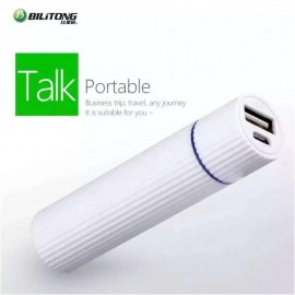 Bilitong Power Bank 2600mAh y099 White for all Smart Phones