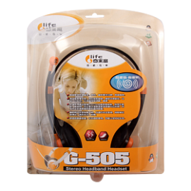 Glife Stereo 2 Pin Headset, G-505