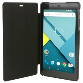 Alcatel One Touch PIXI 4 9003X, Tablet 7 inch, Android 4.4.2, 16GB, 3G, Wi-Fi, Dual Core, Dual Camera, Black, With Free Tablet Case