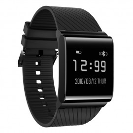 BSNL X9 Plus Water Resistant Smart Band With Heart Rate & Activity Tracking, Black