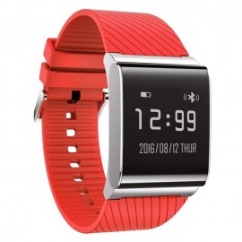 BSNL X9 Plus Water Resistant Smart Band With Heart Rate & Activity Tracking, Red