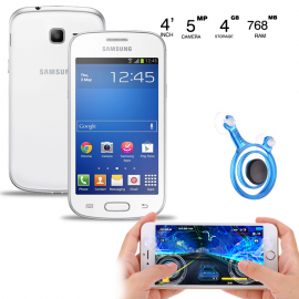 2 in 1 Bundle Offer Samsung Galaxy Trend S S7568 R, Black,Mobile Joystick Dual Analog Smartphone Gaming, SM866
