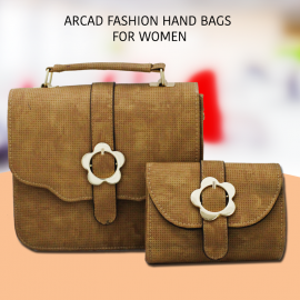 Arcad Fashion Hand bag With Crossbody Bag For Wome..