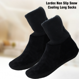 Lordex Non Slip Snow Cooling Long Socks 1 Pair, LO..