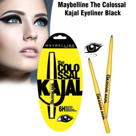 Maybelline The Colossal Kajal Eyeliner Black, 6H