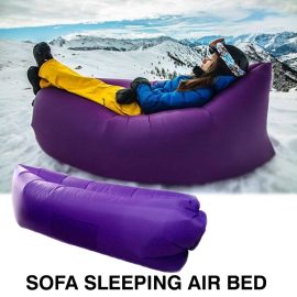 Beach Portable Outdoor Inflatable Bone Furniture Sofa Sleeping  Air Bed, IN357