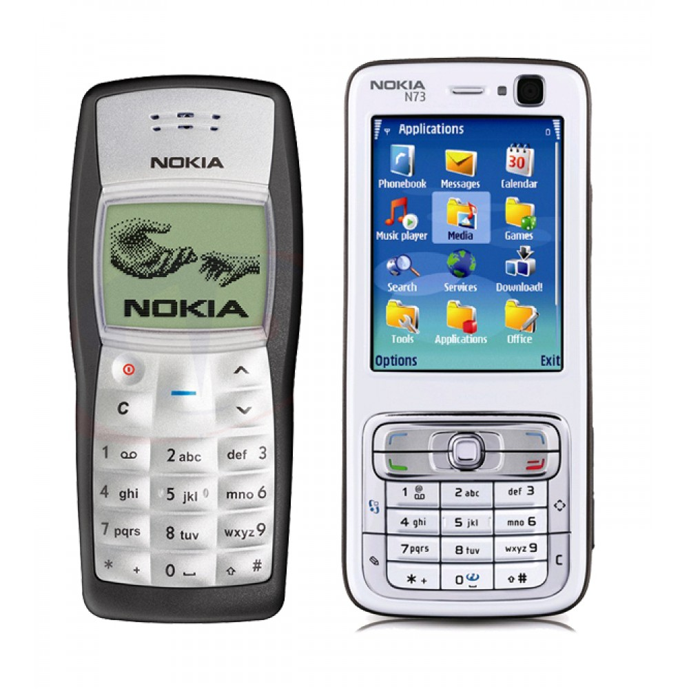 Offers, Nokia N73 With Nokia 1100