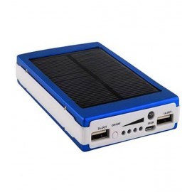 Bison 30,000mAh Solar External Power Bank For Smartphones & Tablets, BS-09S