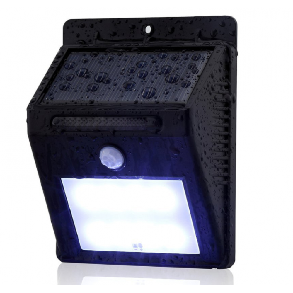 Everbrite Deluxe Motion Activated Led Solar Outdoor Light
