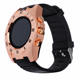 Zooni S5 Bluetooth Smart Watch Mobile, S5, Gold