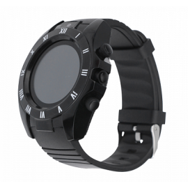 Zooni S5 Bluetooth Smart Watch Mobile, S5, Black