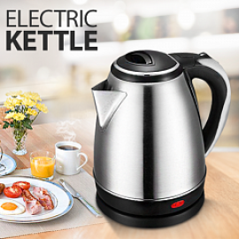 Epsilon 2.0 Litre Stainless Steel Body Electric Kettle 1800 Watts, ZB202