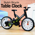 Quartz Stylish Bicycle Alarm Table Clock Gift, YF368C