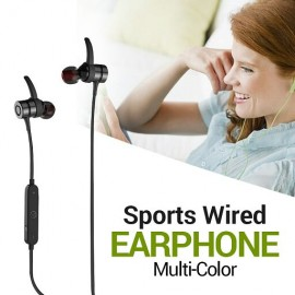 Fashionable Multi-Color High Bass Sports Wired Earphone