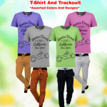 8 in 1 Bundle Offer,Unisex Universal T-Shirt And Tracksuit Set Assorted Colors And Designs