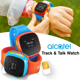 Alcatel Track & Talk Watch For Kids SW10, Blue Red