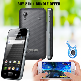 Buy 2 In 1 Bundle Offer, Samsung Galaxy Ace S5830i, Joystick Dual Analog Smartphone Gaming, SM865