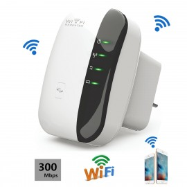 Wireless WIFI Repeater Router Signal Amplifier 802.11N/B/G WI-FI Range Extender 300Mbps, WIFI300