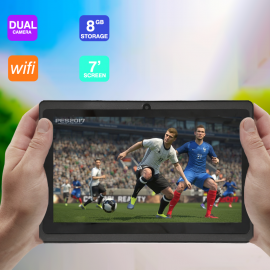 ATOUCH Q12, TABLET 7 inch, Android 4.4.4, 8GB, Wi-Fi, Quad Core, 512MB DDR3, Dual Camera, 3G Dongle Supported