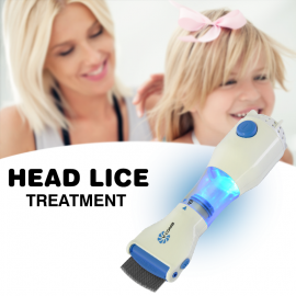 CP V Comb The Innovative, Allergy and Chemical Free Head Lice Treatment , Head Lice Comb, TTVC01