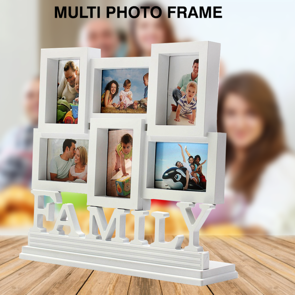 Multi Photo frame Family Love Frames Collage Picture Aperture ...